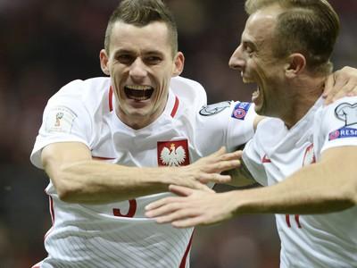 Krzysztof Maczynski oslavuje gól
