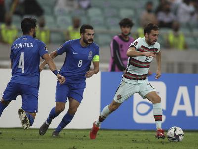 Bernardo Silva uniká futbalistom