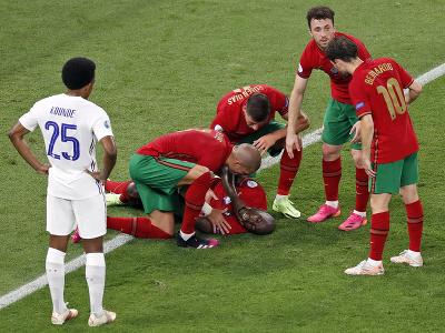 Danilo Pereira v obrovských bolestiach po súboji s Hugom Llorisom