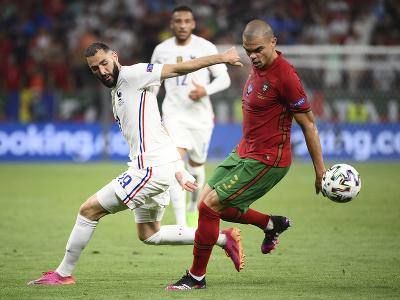 Pepe a Karim Benzema