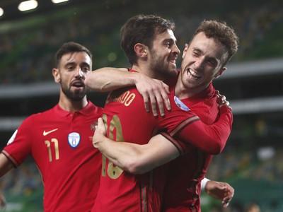 Radosť hráčov Portugalska