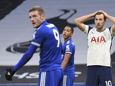 Frustrovaný Harry Kane po zahodenej šanci Tottenhamu