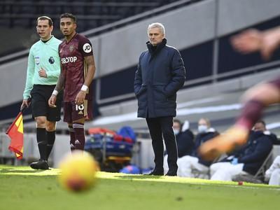 José Mourino sleduje hru