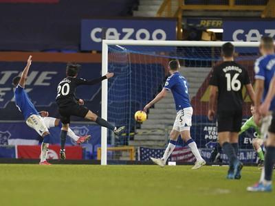 Bernardo Silva dáva gól