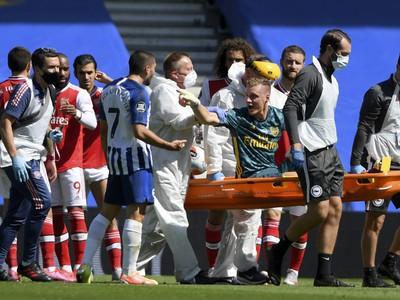 Brankár Arsenalu Leno utrpel