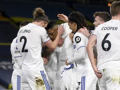 Gólová radosť hráčov Leedsu
