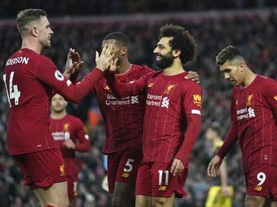Mohamed Salah sa teší