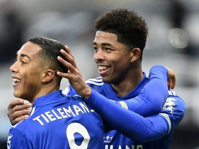 Hráči Leicesteru City sa