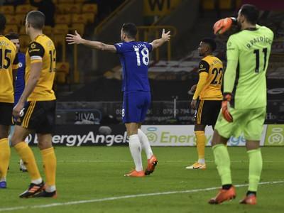 Radosť Oliviera Girouda zo streleného gólu