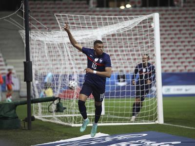 Kylian Mbappé a jeho gólové oslavy