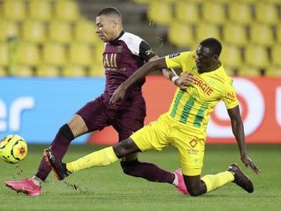 Kylian Mbappé a Dennis Appiah