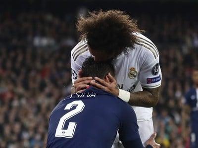 Marcelo a Thiago Silva