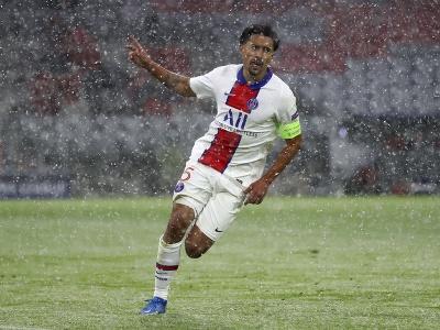 Marquinhos z PSG a jeho gólové oslavy