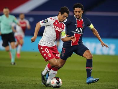 Wissam Ben Yedder a Marquinhos v súboji
