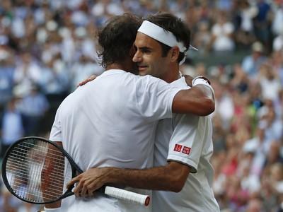 Rafael Nadal a Roger