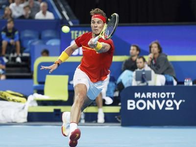 Rafael Nadal v zápase