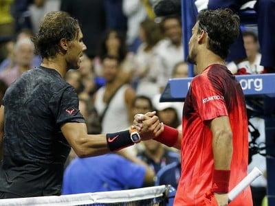 Rafael Nadal a Fabio