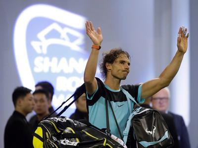Rafael Nadal v Šanghaji