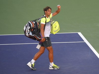 Rafael Nadal turnaj v Indian Wells opúšťa