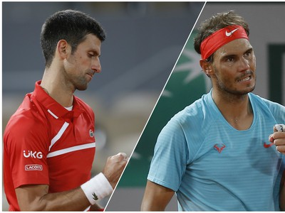 Vo finále Roland Garros Djokovič s Nadalom