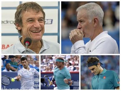Tenisové legendy sa vyjadrili
