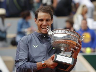 Rafael Nadal s víťaznou