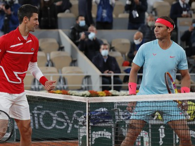 Novak Djokovič a Rafael