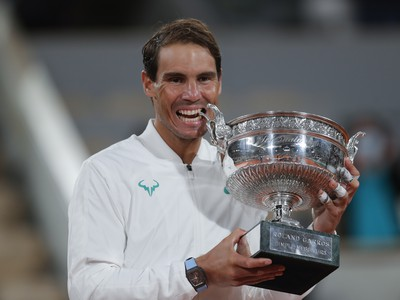 Rafael Nadal získal 20. grandslamový titul