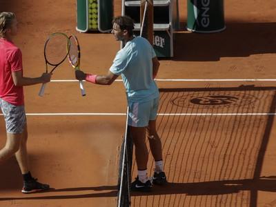 Rafael Nadal a Sebastian Korda