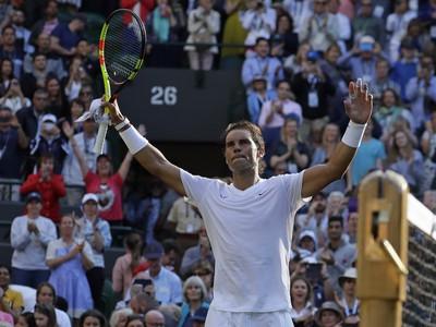 Španielsky tenista Rafael Nadal v prvom kole Wimbledonu
