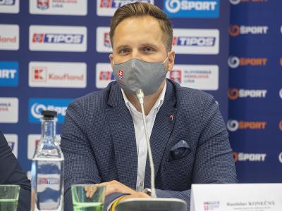 Na snímke manažér športového oddelenia SZĽH a člen ligovej rady SZĽH Rastislav Konečný