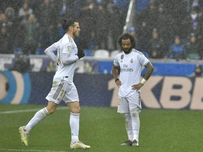 Gareth Bale (vľavo)