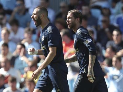 Karim Benzema sa raduje z gólu