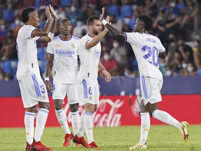Radosť hráčov Realu po