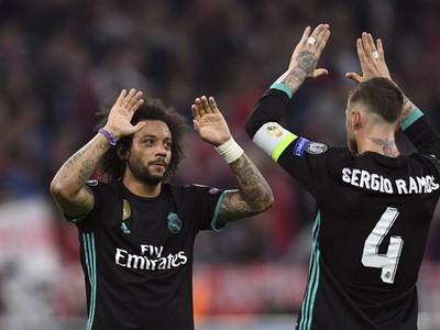 Marcelo a Sergio Ramos