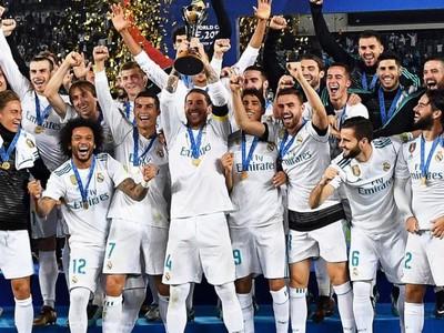 Hráči Realu Madrid sa