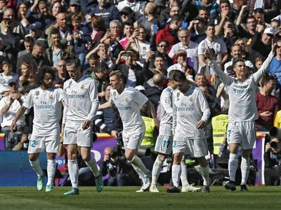 Real Madrid po presnom zásahu