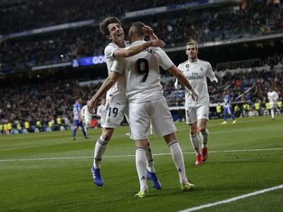 Hráči Realu sa radujú