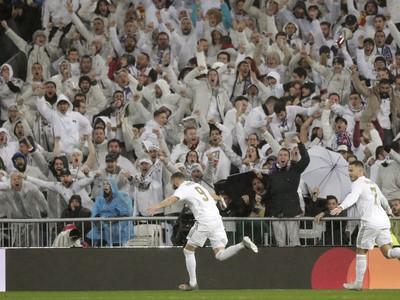 Hráči Realu oslavujú gól