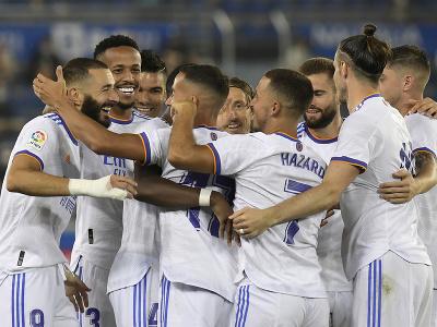 Radosť futbalistov Realu Madrid