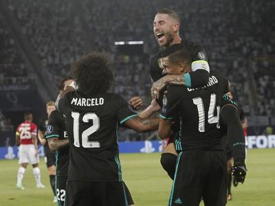 Sergio Ramos oslavuje so