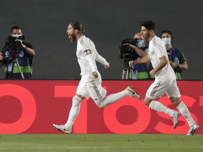 Sergio Ramos sa raduje z premenenej penalty