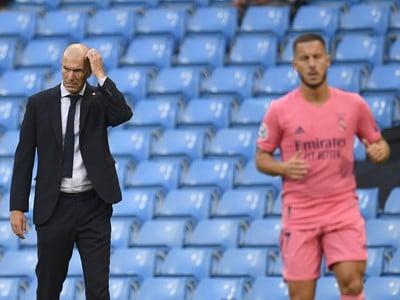 Tréner Realu Madrid Zinedine