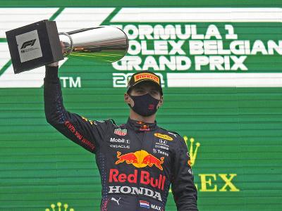 Holandský pretekár Max Verstappen