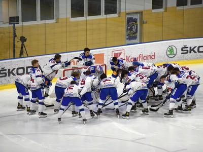 Slovenská osemnástka pred zápasom