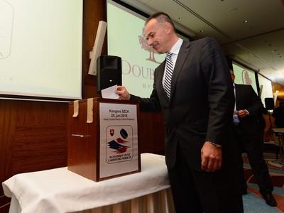 Predseda Slovenského zväzu ľadového