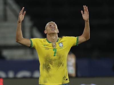 Brazílsky útočník Richarlison