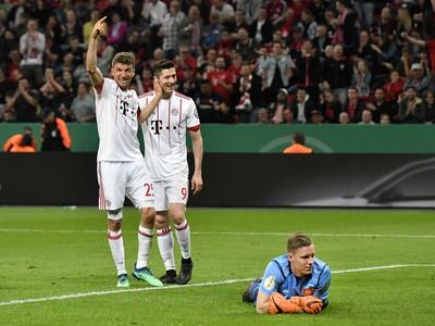Futbalisti Bayernu Mníchov Thomas