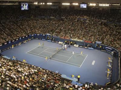Rod Laver Arena počas mužského finále