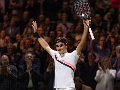 Roger Federer suverénne ovládol